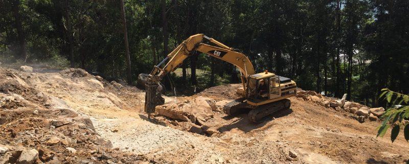 Rock Breaking Drilling Saratoga