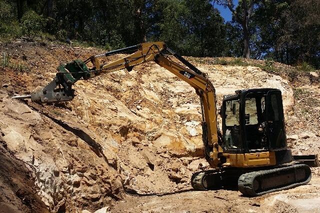 Newcastle Excavator