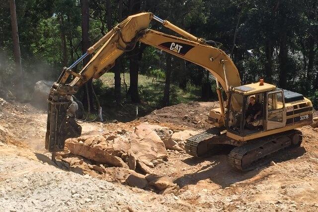 Excavator Cat 320