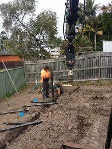 screw piling underpinning