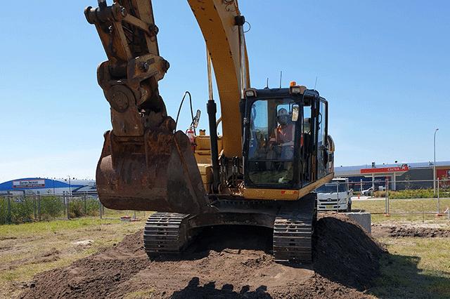 Rock Earth Excavation Salamander Bay